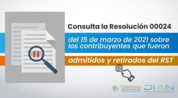 NOTICIAS PÁGINA WEB - Resolución RST-14